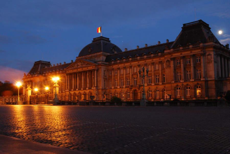 Château Royal de Laeken, sede de la monarquía constitucional belga