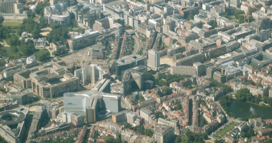 Quartier Européen, barrio europeo en Bruselas