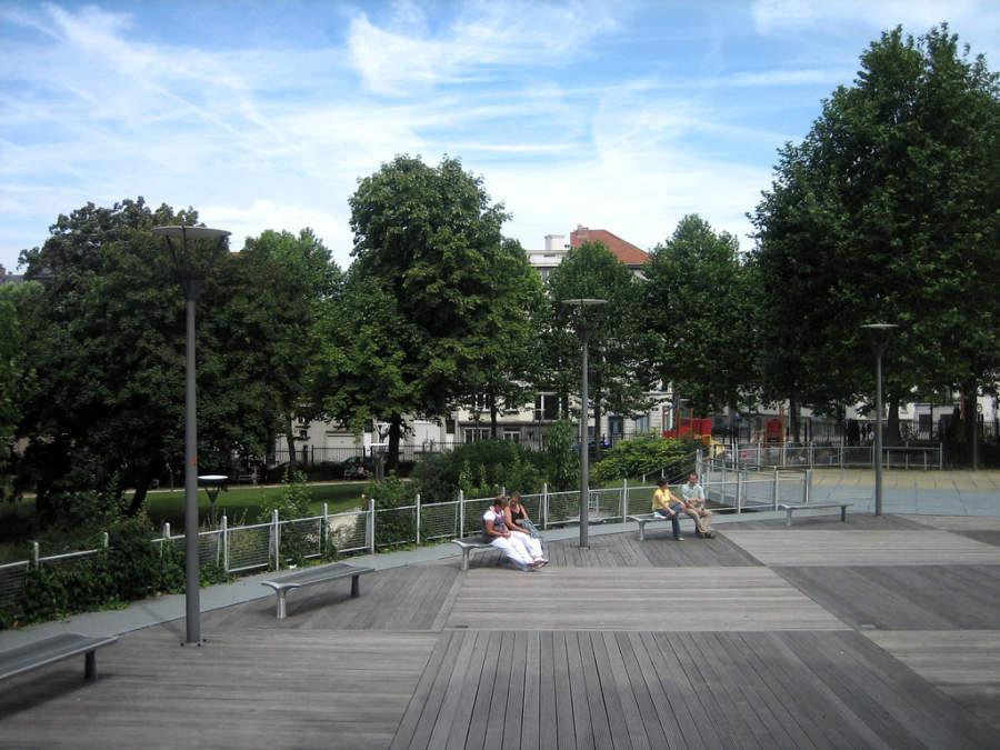 Parque en Quartier Européen