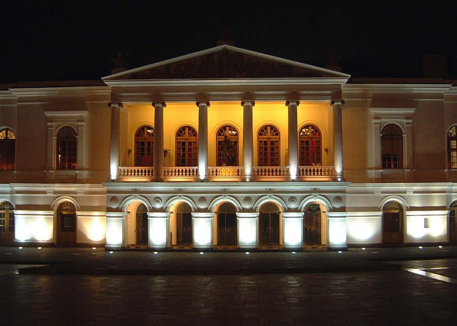 Teatro Nacional de noche