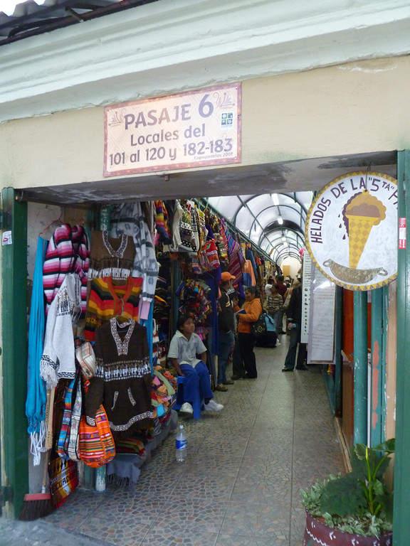 Mercado Artesanal en Quito