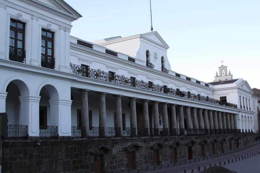Palacio de Carondelet, casa presidencial de Quito