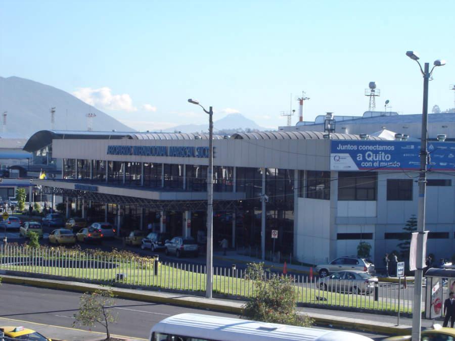 Aeropuerto Internacional Mariscal Sucre en Quito