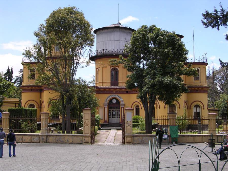 Observatorio de Quito, ubicado en La Alameda