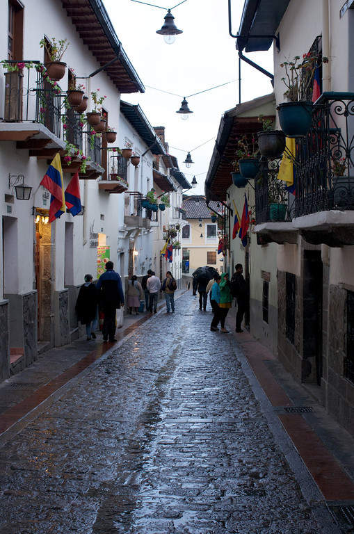 Avenida La Ronda en Quito
