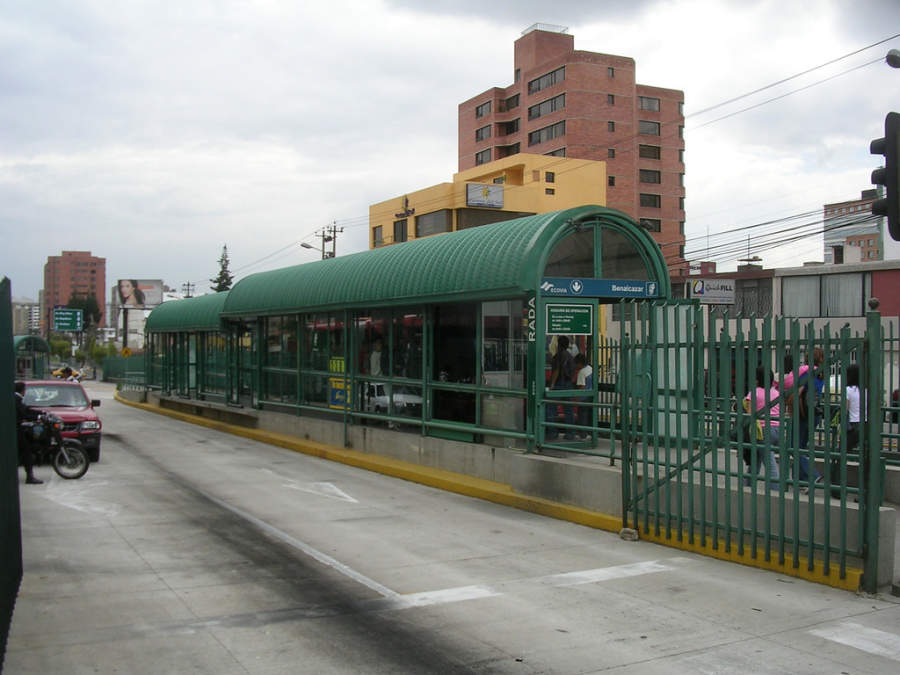 Corredor Ecovía en Quito