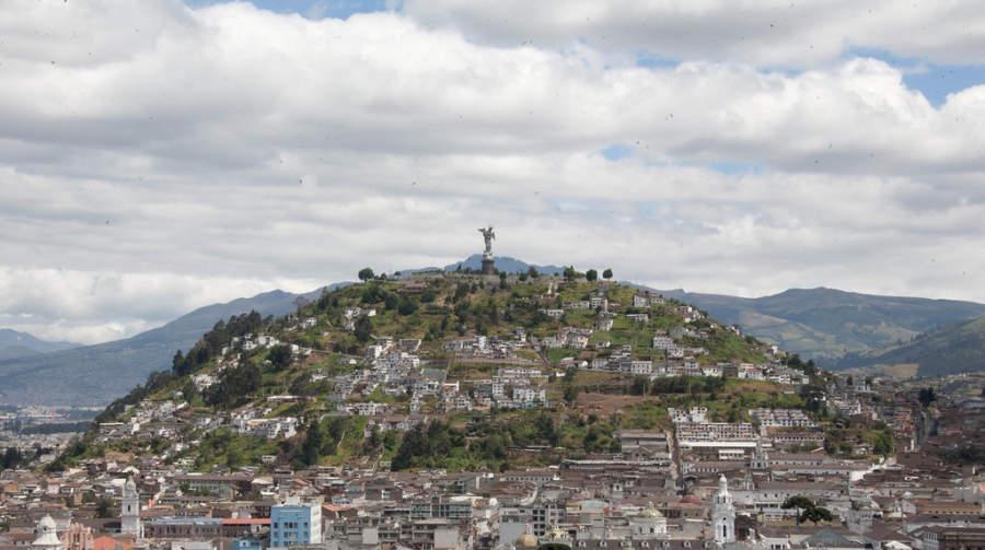 El Panecillo, colina de Quito