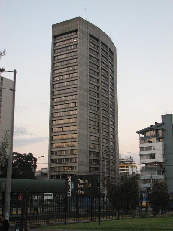 La Torre CFN (Corporación Financiera Nacional) en Quito