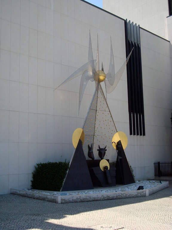 Nacimiento en el Santuario de Nuestra Señora del Rosario de Fátima