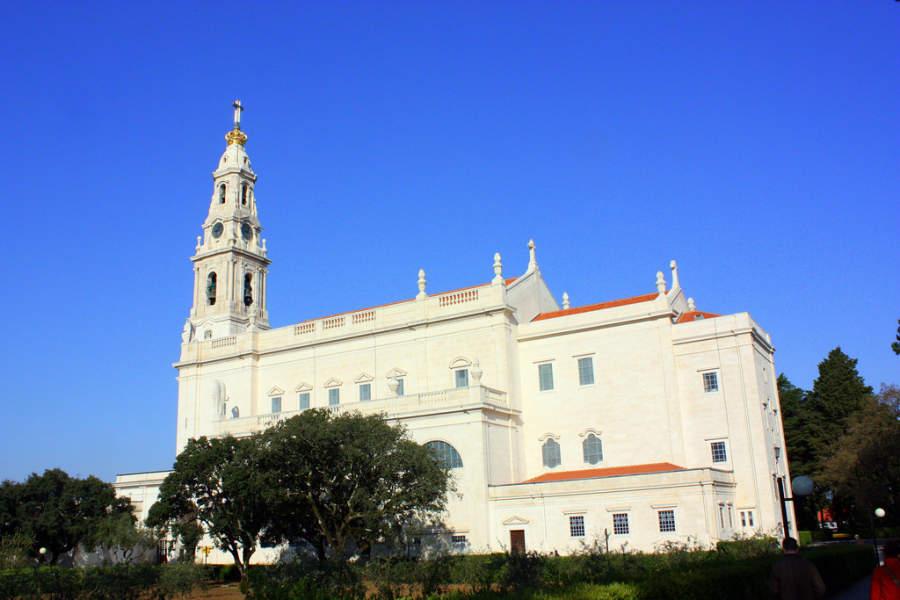Admira la arquitectura del Santuario