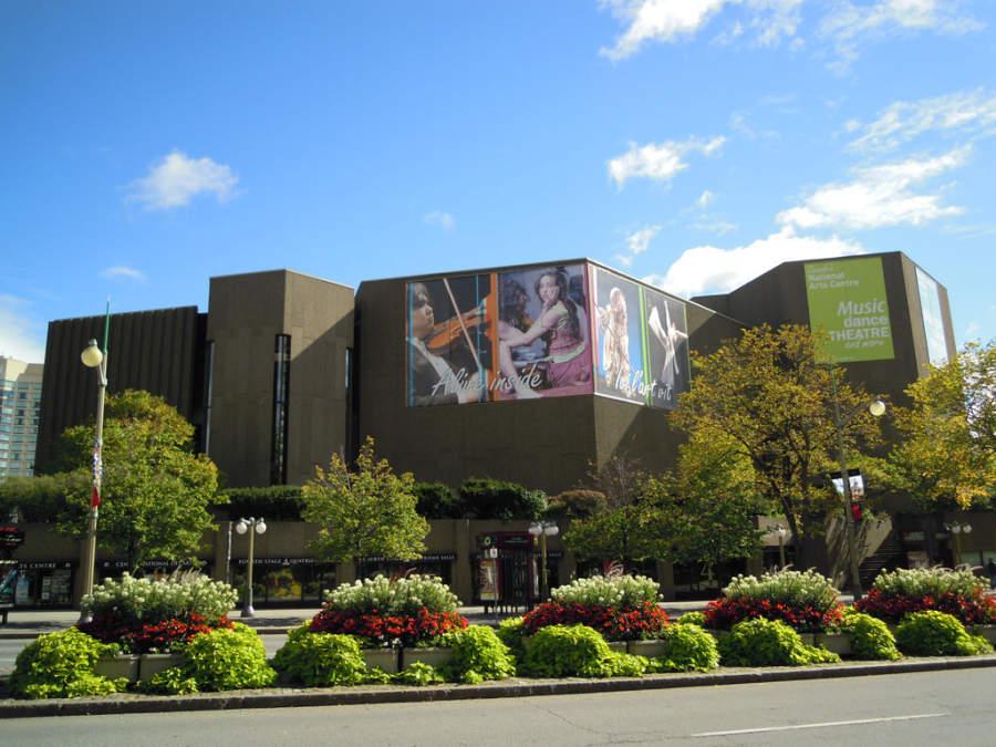 National Arts Centre es un recinto de artes escénicas en Ottawa