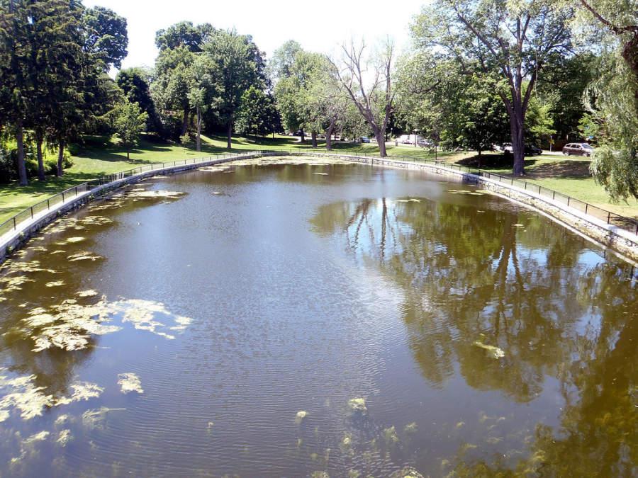 Un parque en la ciudad de Ottawa, Ontario