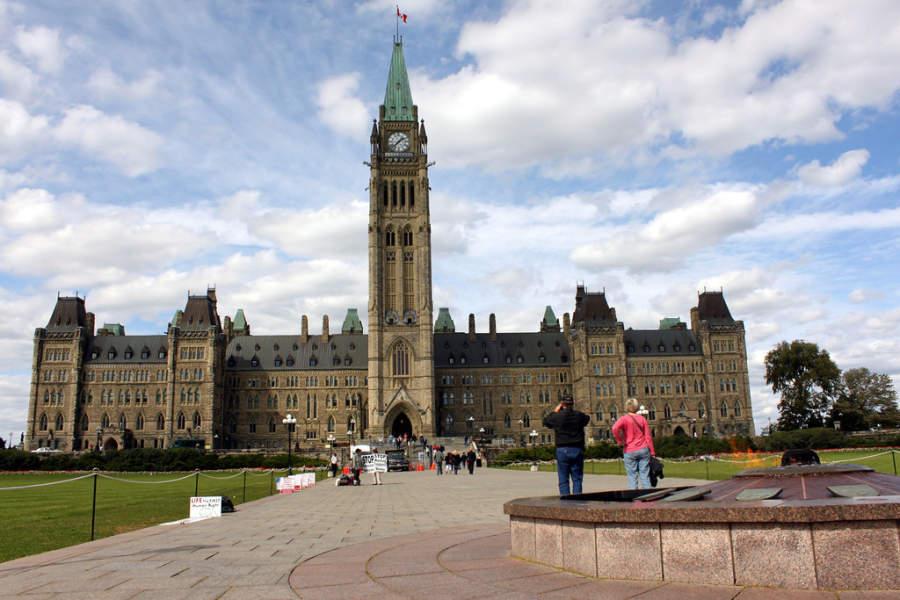 Parliament Hill es un complejo de edificios gubernamentales en Ottawa