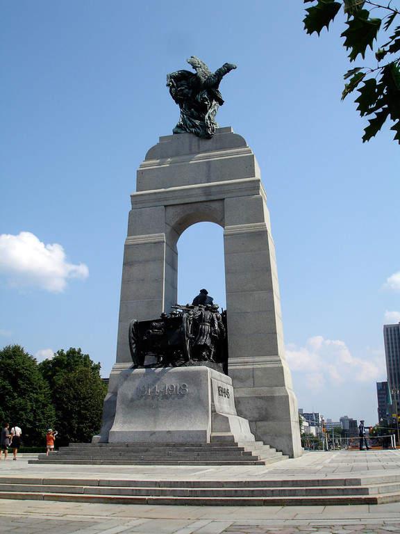 National War Memorial, monumento dedicado a los veteranos de guerra
