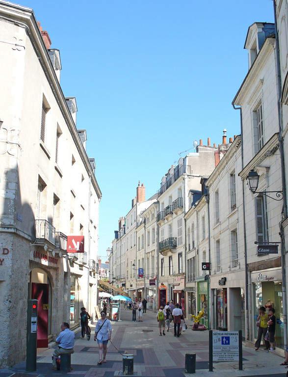 Blois cuenta con diversos espacios peatonales