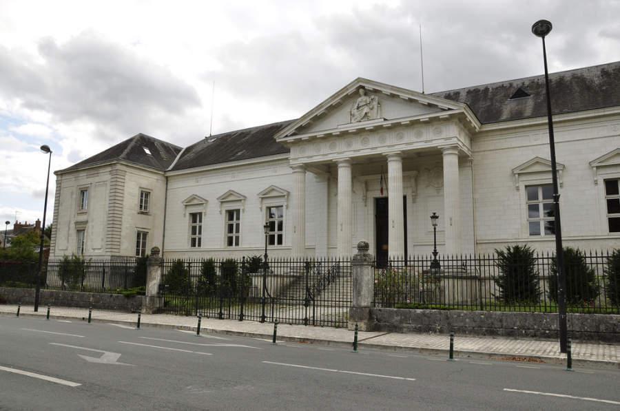 Edificio del Palacio de Justicia en Blois