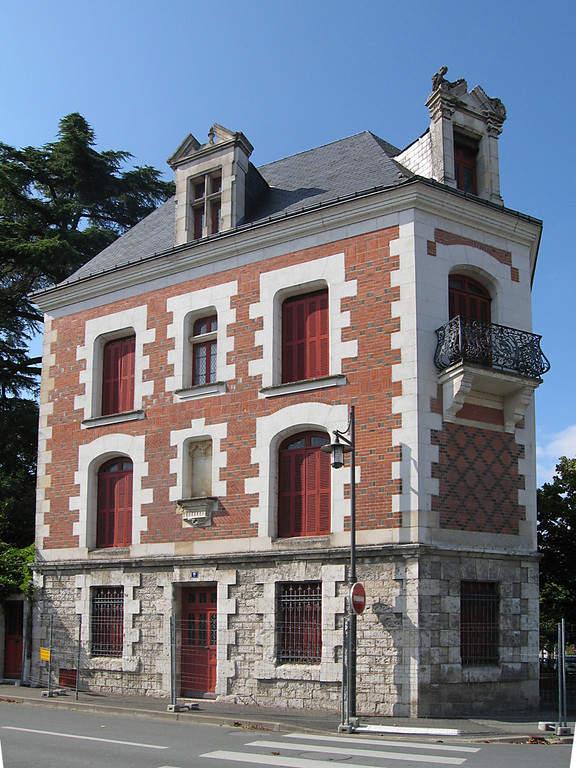 Una casa típica de la ciudad de Blois