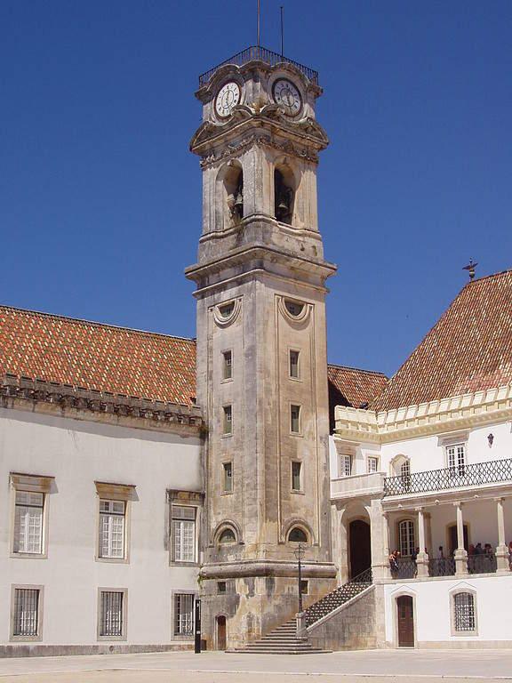 Torre de la Universidad de Coímbra