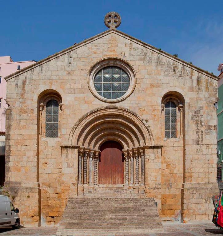 Iglesia de Santiago en Coímbra