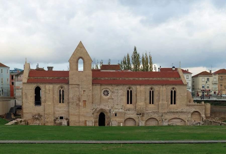 Vestigios del Monasterio de Santa Clara a Velha en Coímbra