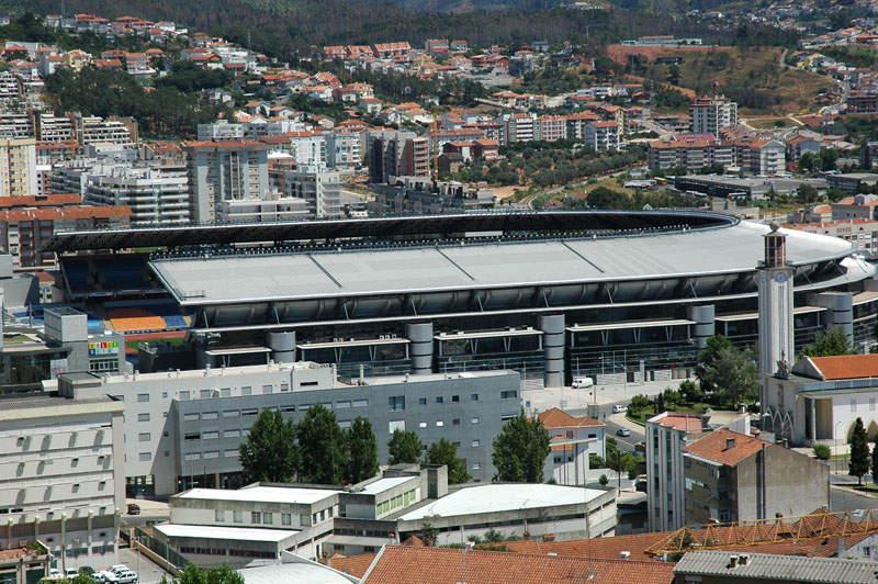 El Estadio Ciudad de Coímbra es sede de partidos de fútbol