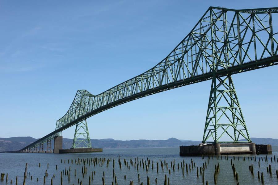 Astoria–Megler Bridge, puente sobre el río Columbia