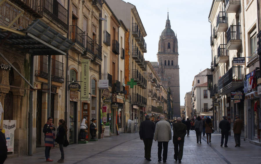 Ciudad vieja de Salamanca, Patrimonio de la Humanidad por la Unesco
