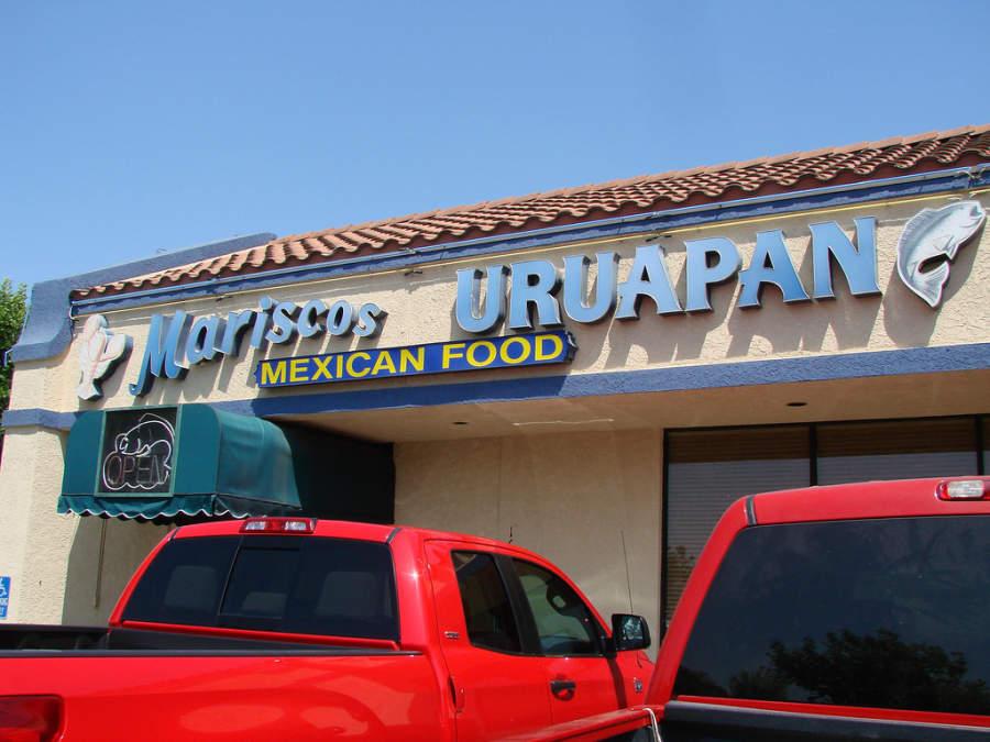 Restaurante de mariscos en Uruapan