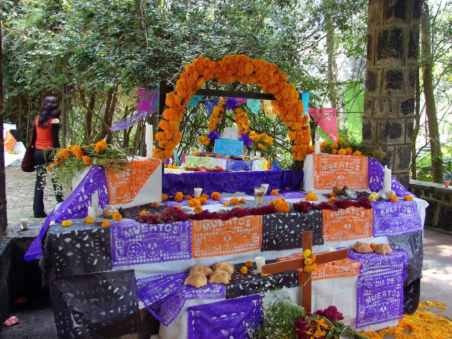 Festival del Dia de Muertos en Uruapan