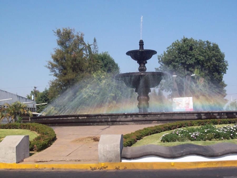 Uruapan del Progreso, fuente de la ciudad