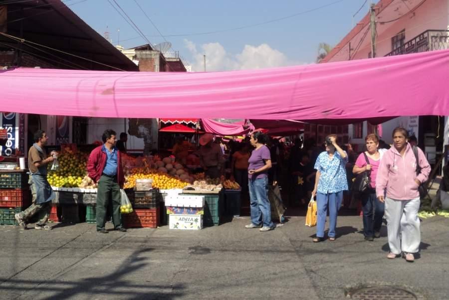 Mercado de la ciudad de Uruapan