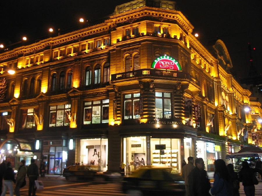 Centro comercial Galerías Pacífico