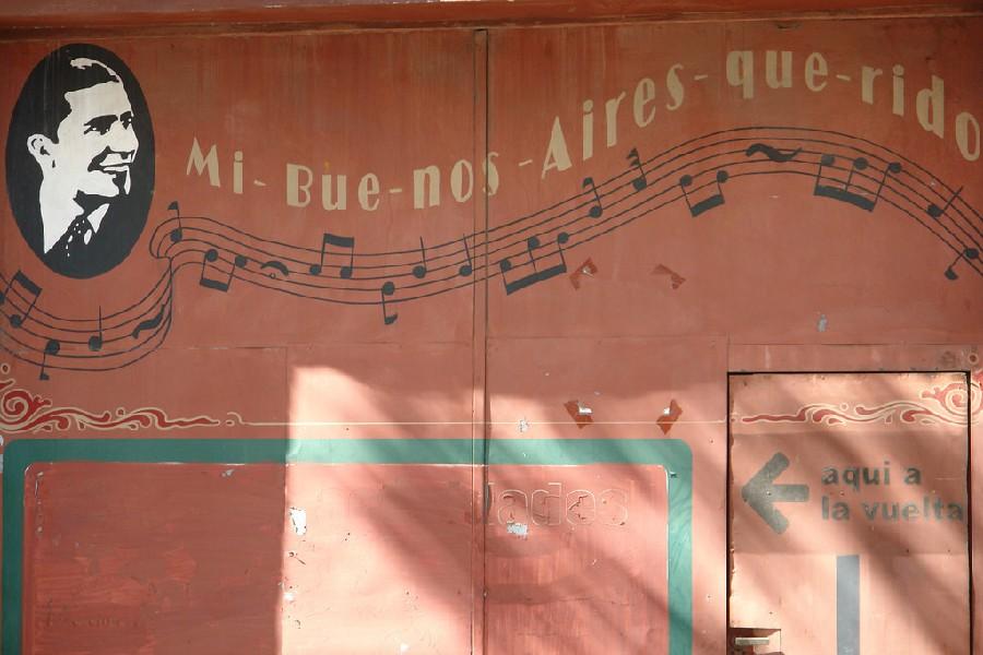 Cerca del Museo Casa Carlos Gardel