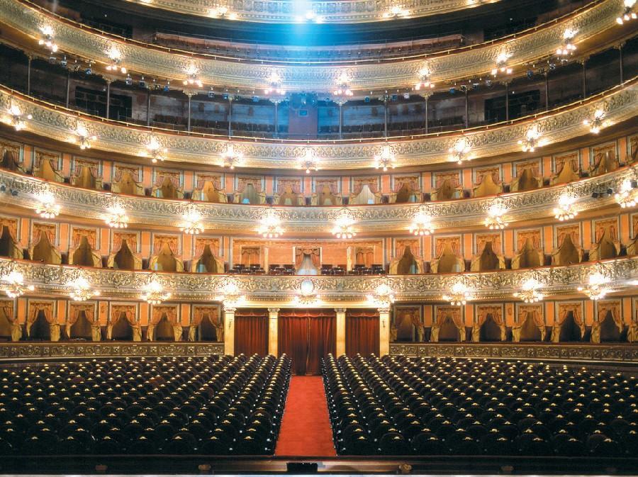 Interior del Teatro Colón