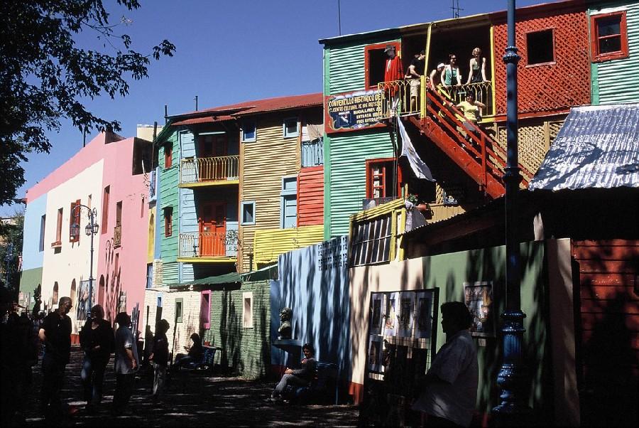 Calle Caminito, barrio de La Boca