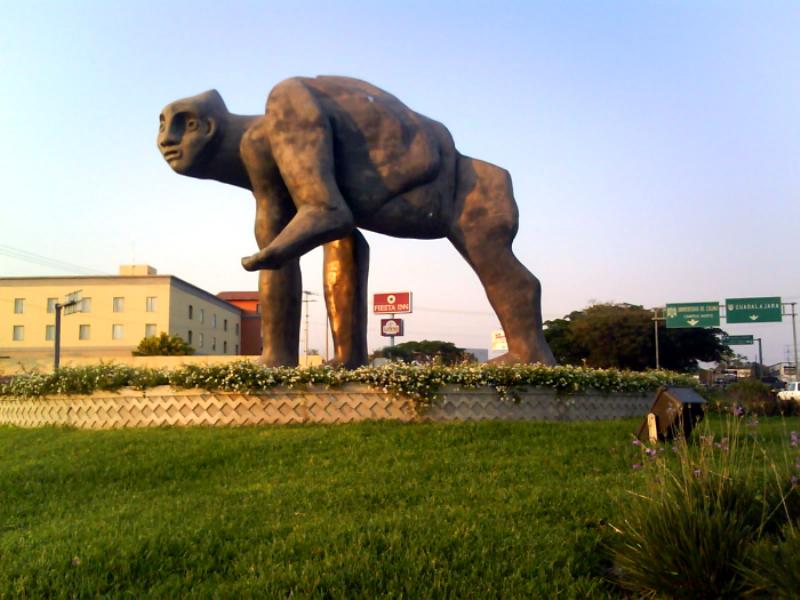 La Figura Obscena en la ciudad de Colima es obra de José Luis Cuevas