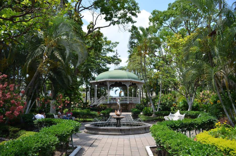 Quiosco del Jardín Libertad en Colima