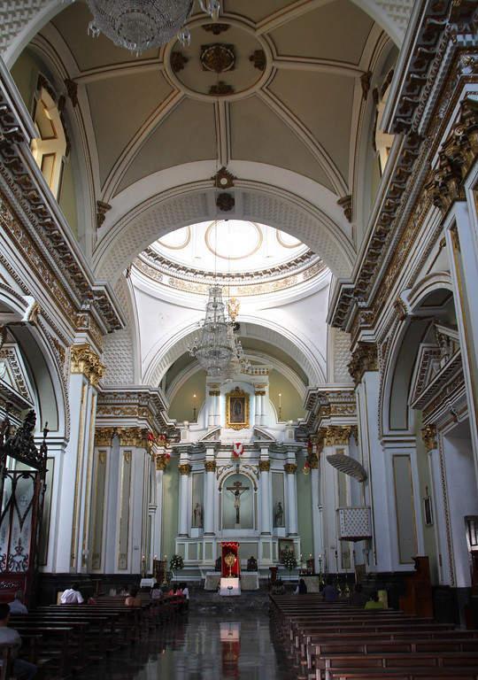 Interior de la Catedral de Colima