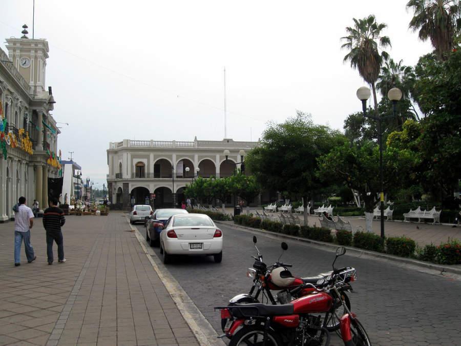Centro histórico de la ciudad de Colima