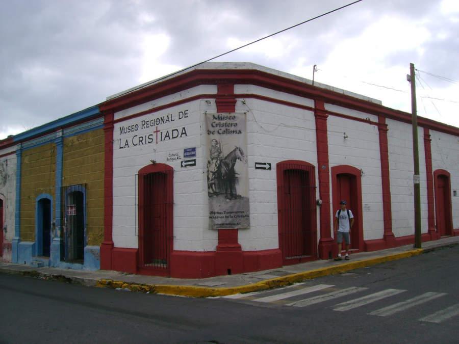 Vista exterior del Museo Regional de la Cristiada