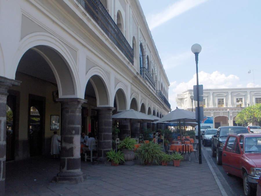 Portales de Medellín en la ciudad de Colima