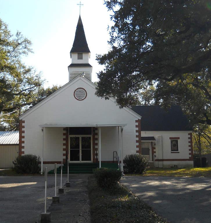 Mount Pleasant United Methodist Church, iglesia en Gulfport
