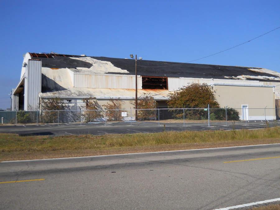 Gulfport Army Airfield Hangar, sitio histórico usado para entrenar tropas de combate