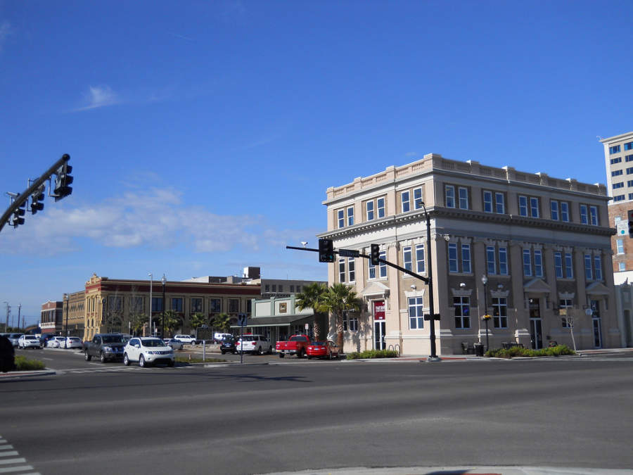 La amplia Avenida 25 en Gulfport
