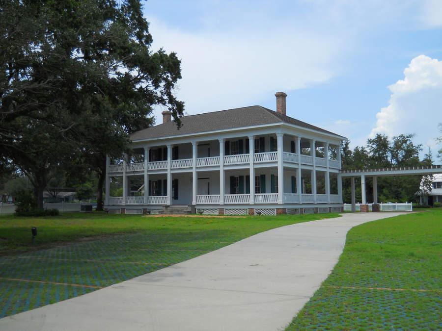 Grass Lawn, mansión histórica en Gulfport