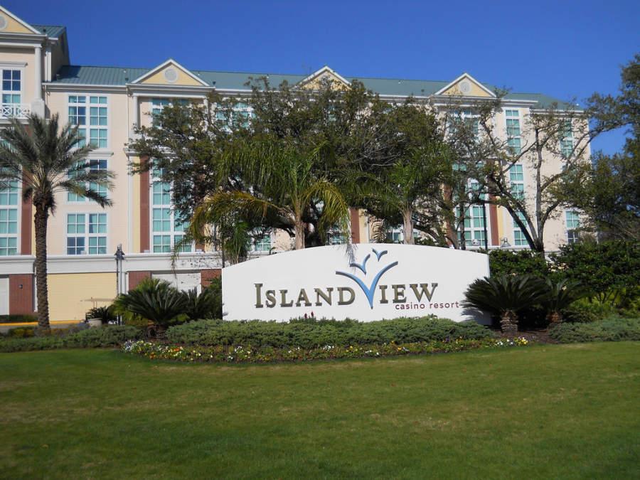 Islan View, famoso hotel con casino en Gulfport