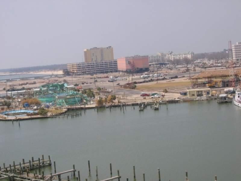 Vista del puerto de Gulfport