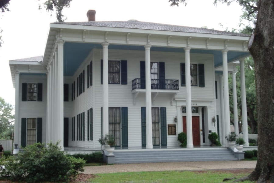 Bragg-Mitchell Mansion, casa museo en la ciudad