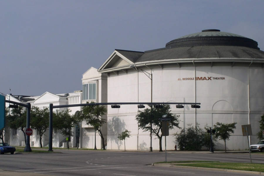 Gulf Coast Exploreum Science Center, centro de ciencias en Mobile