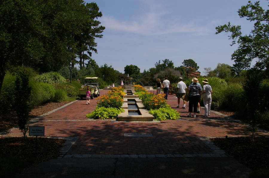 Norfolk Botanical Garden, jardín botánico
